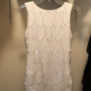 Alice+Olivia white pattern dress